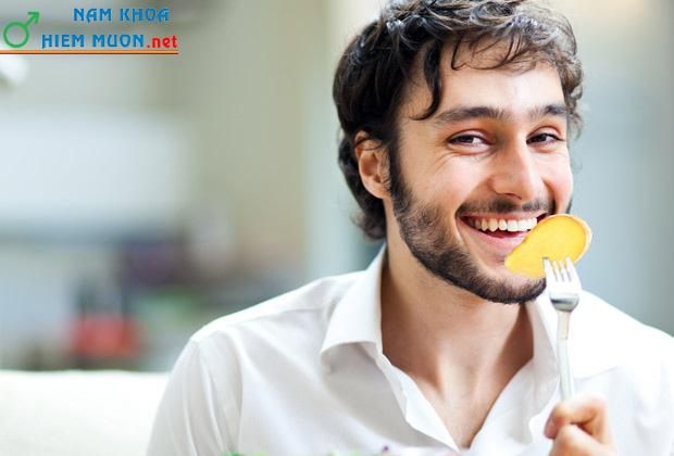 Thức ăn tăng cường sinh lý nam